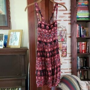 Abercrombie and Fitch Boho Cross Strap Dress